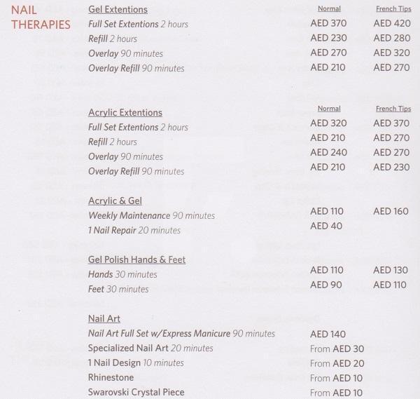 Al Asalla Spa Price2