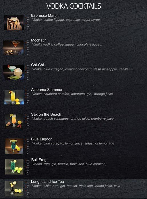 Blue Bar Menu16