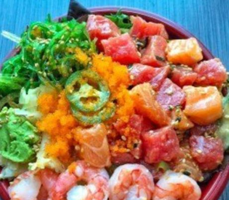 Cali Poke California Seafood House Food3