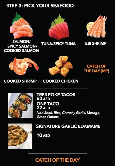 Cali Poke California Seafood House Menu3