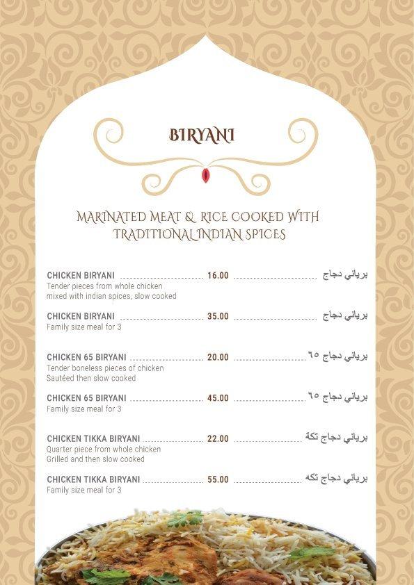 Deccan Biryani Menu9