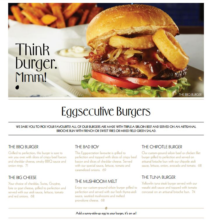 Eggspectation Menu6