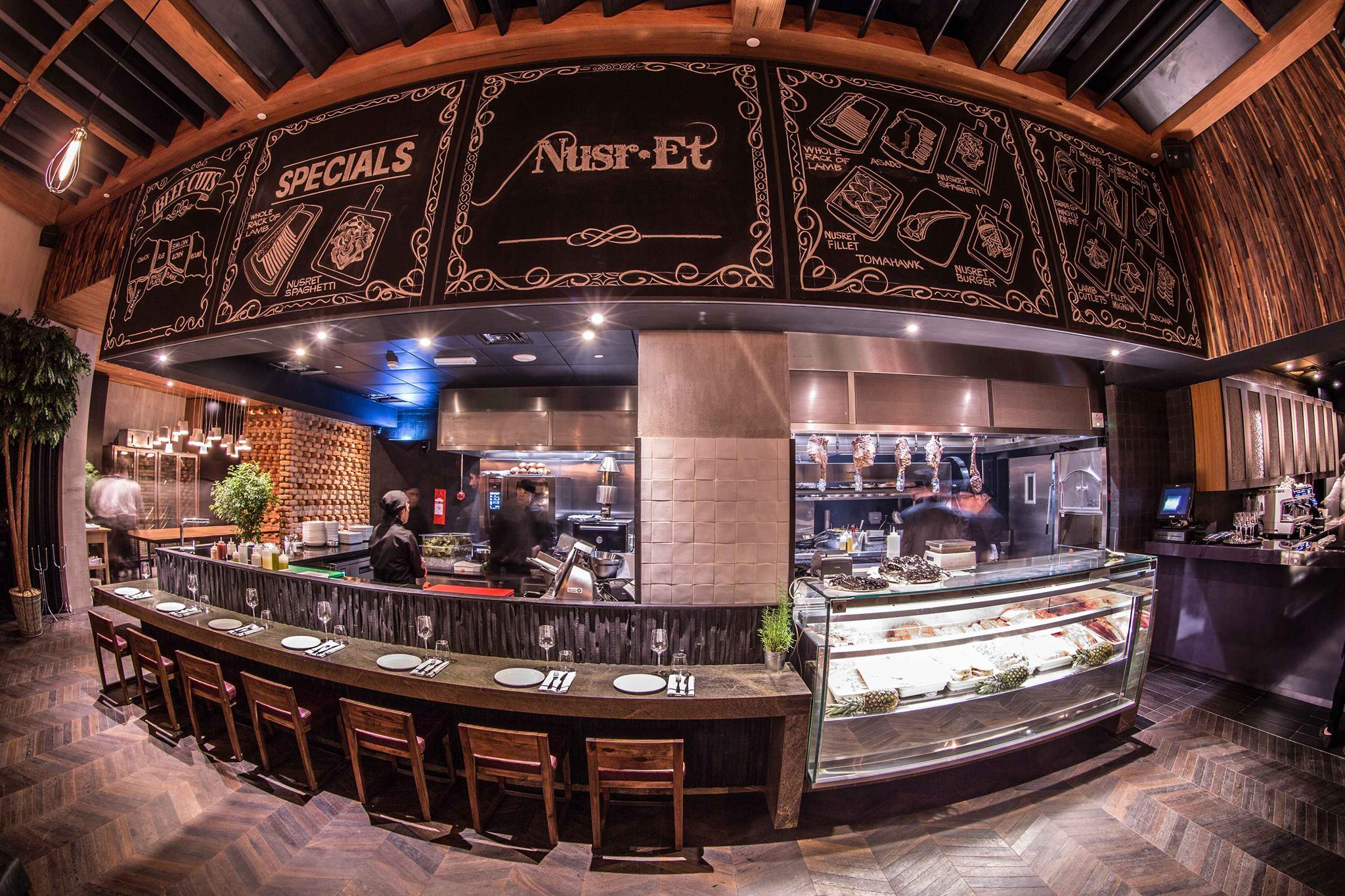 Nusr Et Steakhouse Interior1