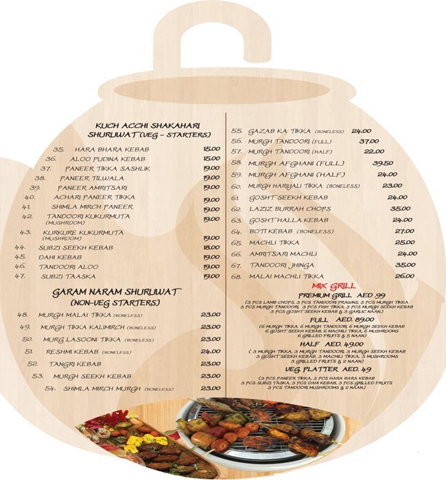 Tandoor Palace Menu6