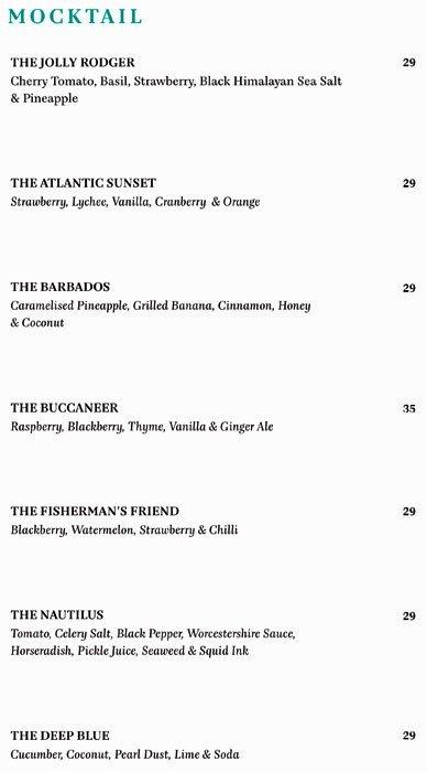 The Atlantic Menu19