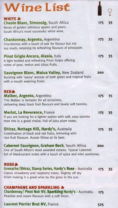The Irish Village Menu1