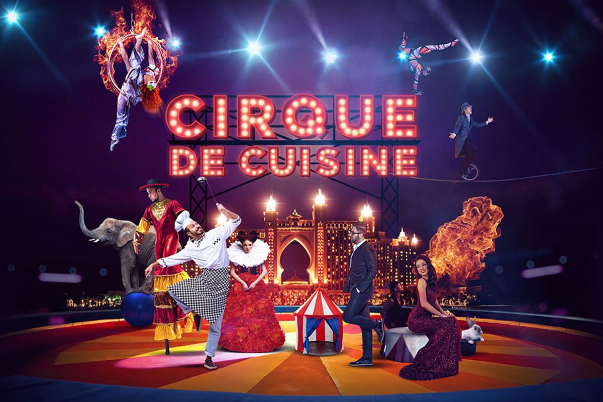 Cirque De Cuisine Night at Atlantis The Palm, 18 May 2017