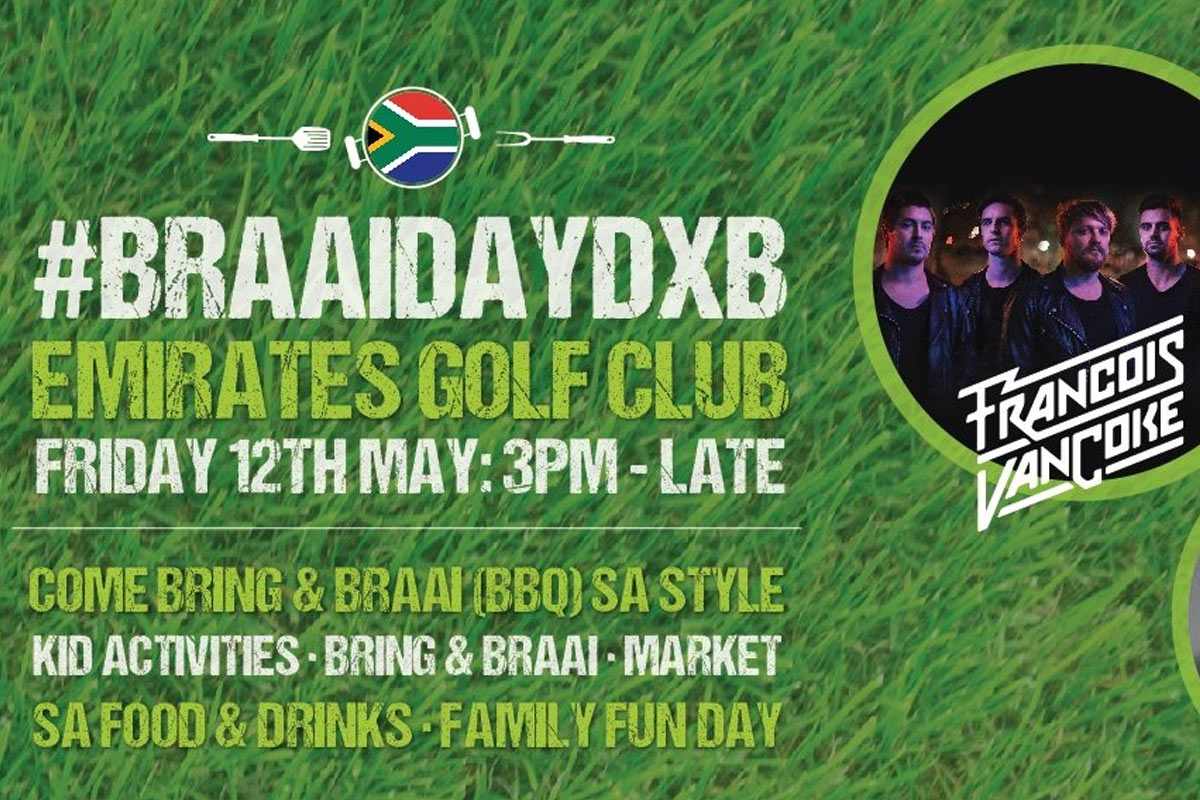 SA Braai Day DXB at Emirates Gold Club, 12 May 2017